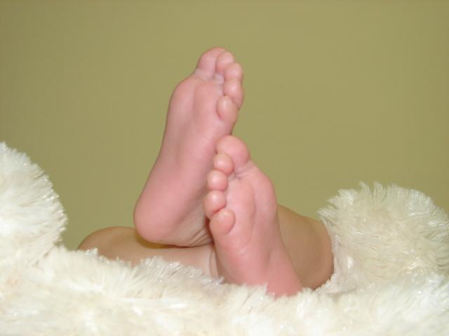 足の裏にも注目 足が一番感染しやすい